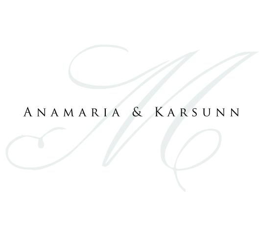 Wedding Monogram for Anamaria