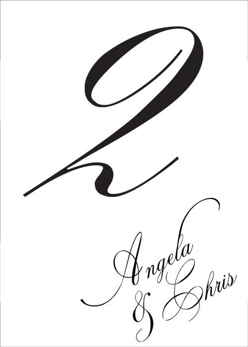 Program Wedding Monograms By Bellus Designs