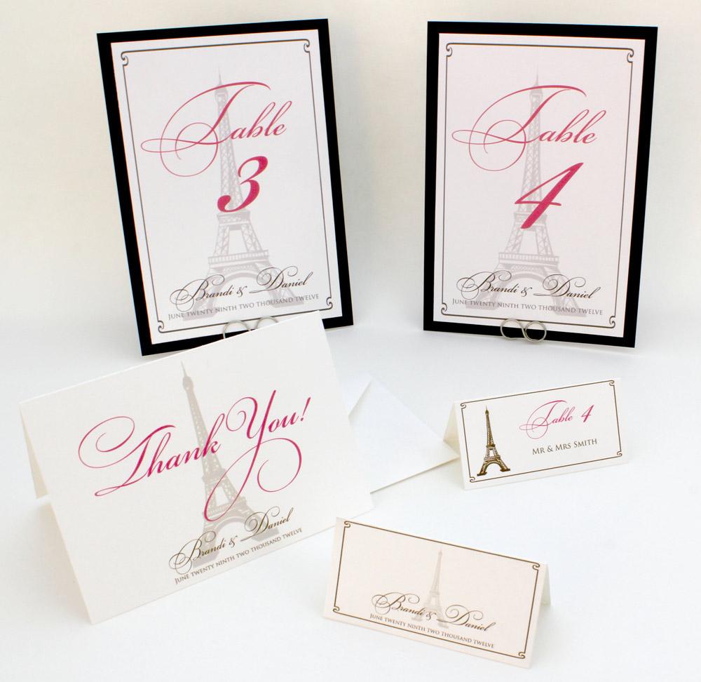French/Paris/Eiffle Tower Themed Reception Suite | Wedding Monograms ...
