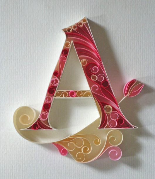 Monogram Letter A