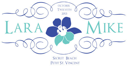 Tropical Orchid Monogram