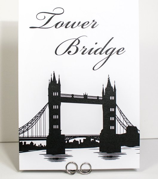 Tower Bridge Table Number
