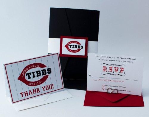 Baseball Wedding Invitation: Wedding Monograms By Bellus Designs